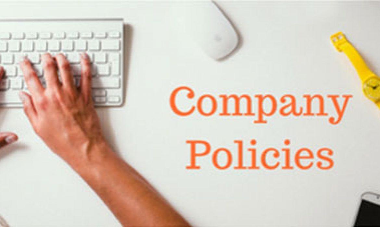 3 Reasons why you need Company Policies