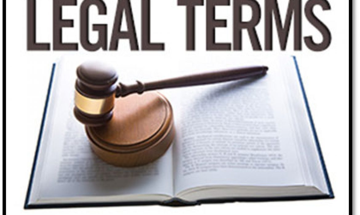 Legal terms for Internal committee and HR's – Part 2 of 2