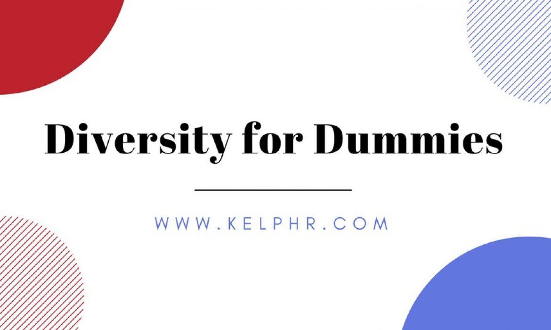 Diversity for Dummies
