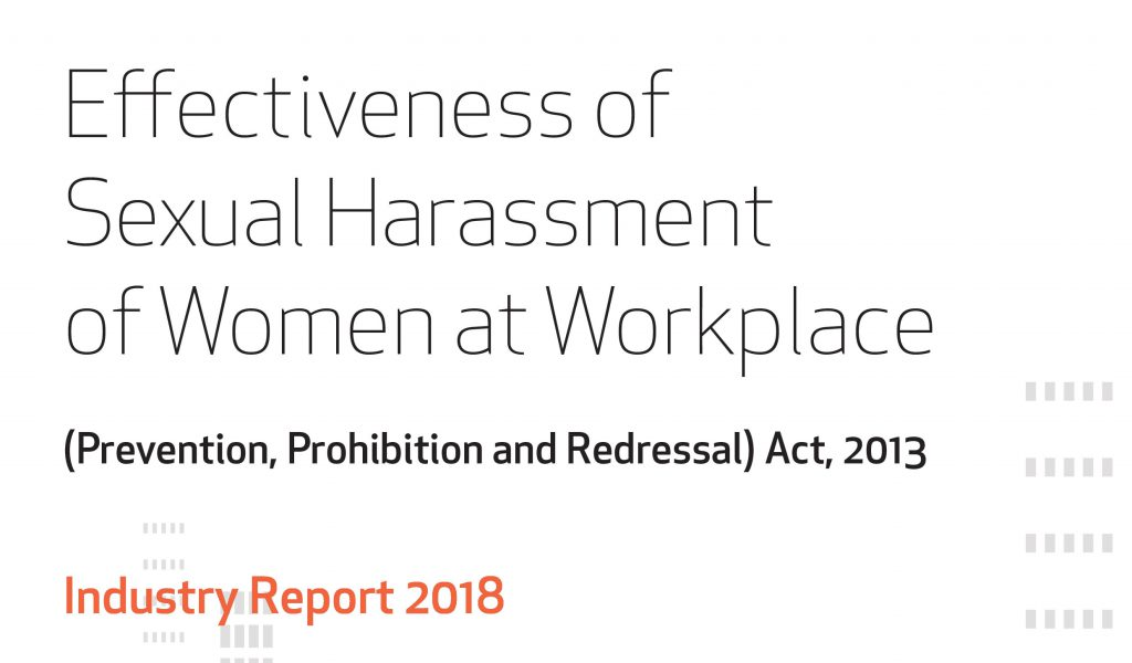 Survey Report Cover 1 1024x600 - Effectiveness of Sexual Harassment of Women at Workplace