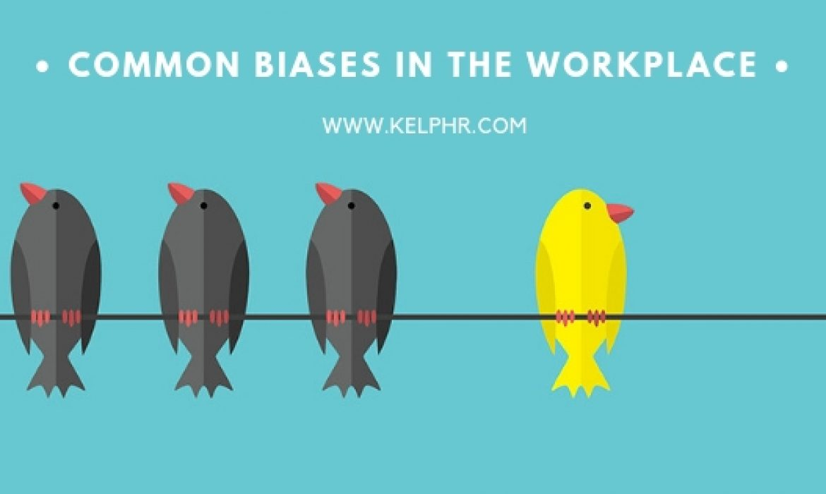 Common biases in the workplace