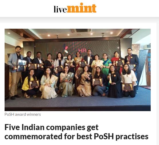 posh award winners at livemint