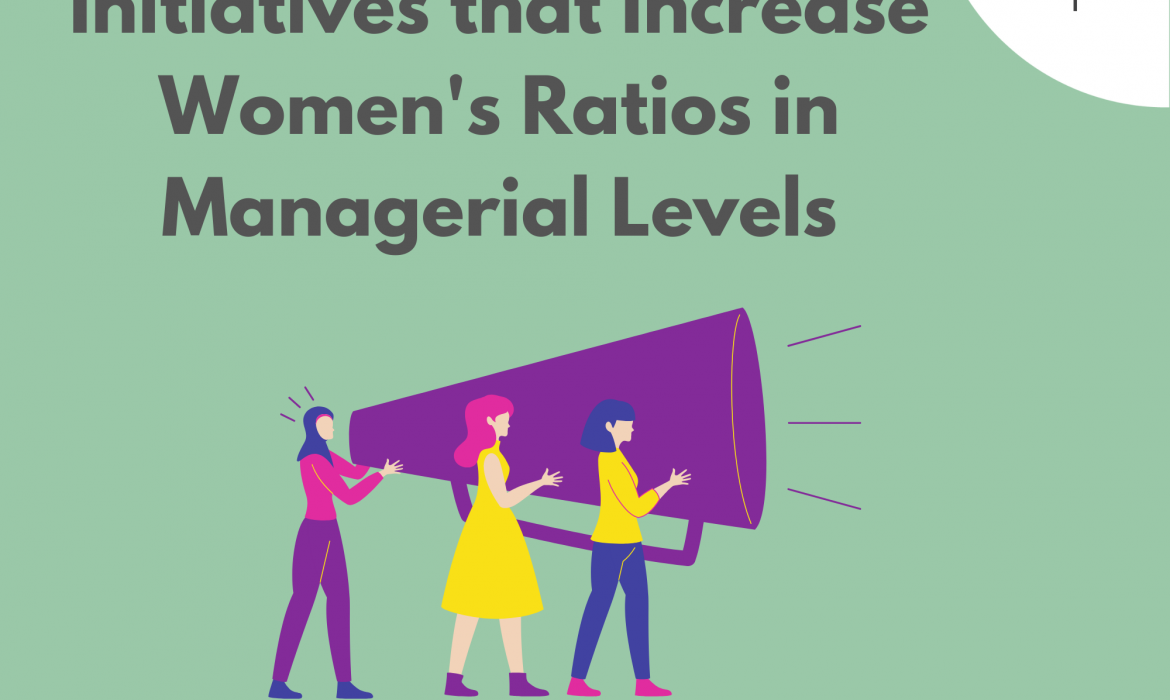 Initiatives that Increase Women's Ratios in Managerial Levels