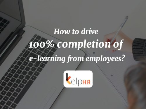 How to drive 100% completion of e-learning from employees?