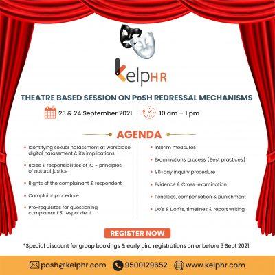 Theatre based session on PoSH Redressal Mechanisms